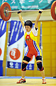 Nao Ito, JUNE 24th, 2011 - Weightlifting : All Japan Weightlifting Championship, Women's -53kg at Saitama memorial gymnasium, Saitama, Japan. (Photo by Atsushi Tomura/AFLO SPORT) [1035]