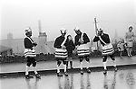 Britannia Bacup Coconut dancers, Bacup Lancashire 1972