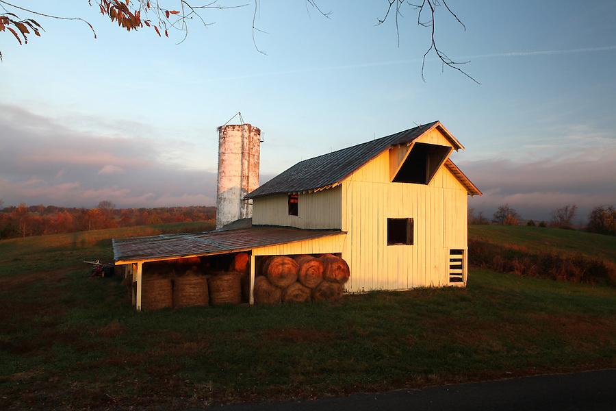 A barn in Madison County, Va. Mandatory Credit: Andrew Shurtleff