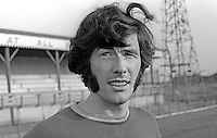 Billy Millan, footballer, Linfield FC, Belfast, N Ireland, August 1970. 1970080295BM1<br />