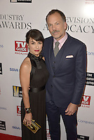HOLLYWOOD, CA - SEPTEMBER 16: Constance Zimmer and Russ Lamoureux attend The Television Industry Advocacy Awards benefiting The Creative Coalition hosted by TV Guide Magazine & TV Insider at the Sunset Towers Hotel on September 16, 2016 in Hollywood, CA. Credit: Koi Sojer/Snap'N U Photos/MediaPunch