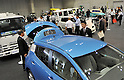 October 12, 2011, Yokohama, Japan - Various types of electric vehicles are on display during Electric Vehicle Development Technology Exhibition 2011 in Yokohama, south of Tokyo, on Wednesday, October 12, 2011. EVEX covers all EV-related processes from materials and design to completion. The trade show also provides rare opportunities to see and experience a trial ride the lates EVs. (Photo by Natsuki Sakai/AFLO) [3615] -mis-