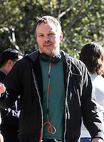 NEW YORK, NY - OCTOBER 10: Director Marc Webb on the set of the new film, The Only Living Boy on October 10, 2016 in New York City. Credit: RW/MediaPunch