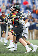 Annapolis, MD - February 11, 2017: Maryland Terrapins Matt Rambo (1) in action during game between Maryland vs Navy at  Navy-Marine Corps Memorial Stadium in Annapolis, MD.   (Photo by Elliott Brown/Media Images International)