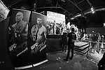 November 15, 2012: UFC 154 Open Workouts