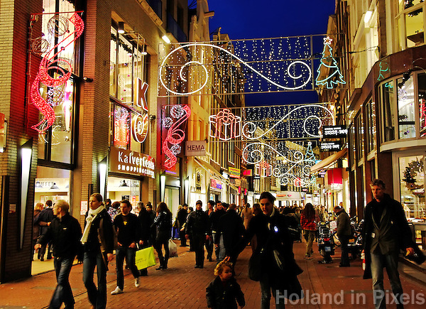 kalverstraat kerst 54 jpg   Holland in Pixels