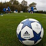 280910 Rangers and Bursaspor training