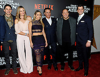 NEW YORK, NY - NOVEMBER 03: Maurice Compte,Lauren Shaw, Zulay Henao, Andy Garcia, Kevin James and director Jeff Wadlow attend the 'True Memoirs Of An International Assassin' New York premiere at AMC Lincoln Square Theater on November 3, 2016 in New York City. Photo by John Palmer/ MediaPunch