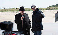 Churchill (2017)  <br /> Winston Churchill (Brian Cox) &amp; Jonathan Teplitzky (Director)<br /> *Filmstill - Editorial Use Only*<br /> CAP/KFS<br /> Image supplied by Capital Pictures