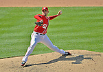17 June 2012: Washington Nationals pitcher Mike Gonzalez on the mound against the New York Yankees at Nationals Park in Washington, DC. The Yankees defeated the Nationals 4-1 to sweep their 3-game series. Mandatory Credit: Ed Wolfstein Photo