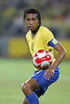 21 August 2008: Tania (BRA). The United States Women's National Team defeated Brazil's Women's National Team 1-0 after extra time at the Worker's Stadium in Beijing, China in the Gold Medal match in the Women's Olympic Football tournament.