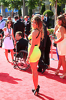 LOS ANGELES - JUL 11:  Anastasia Ashley arrives at the 2012 ESPY Awards at Nokia Theater at LA Live on July 11, 2012 in Los Angeles, CA