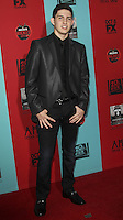 HOLLYWOOD, LOS ANGELES, CA, USA - OCTOBER 05: Luke Siggins arrives at the Los Angeles Premiere Screening Of FX's 'American Horror Story: Freak Show' held at the TCL Chinese Theatre on October 5, 2014 in Hollywood, Los Angeles, California, United States. (Photo by Celebrity Monitor)