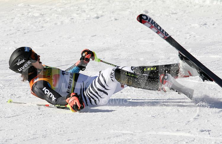 Ski Alpin; Saison 2006/2007  Slalom Herren JUBEL, Felix Neureuther (GER) belegt Platz 3.