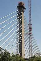 BRIDGE CONSTRUCTION<br /> Penobscot Narrows Bridge - A Cable Stayed Bridge<br /> A cable-stayed bridge is a bridge that consists of one or more columns, with cables supporting the bridge deck.