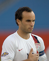 Landon Donovan. The United States defeated El Salvador, 4-0, in the first round of the CONCACAF Gold Cup, in Gillette Stadium, Tuesday, June 12, 2007.