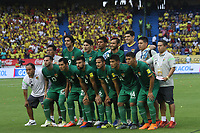 BARRANQUILLA -COLOMBIA, 23-MARZO-2017. Team of Bolivia.Action game between Colombia and Bolivia   during match for the qualifiers for the World Cup of Soccer Russia 2018 played in the  Metropolitano Roberto Melendez stadium in Barranquilla . Photo:VizzorImage / Felipe Caicedo  / Staff