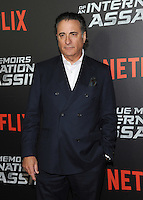 NEW YORK, NY - NOVEMBER 03: Andy Garcia attends the 'True Memoirs Of An International Assassin' New York premiere at AMC Lincoln Square Theater on November 3, 2016 in New York City. Photo by John Palmer/ MediaPunch