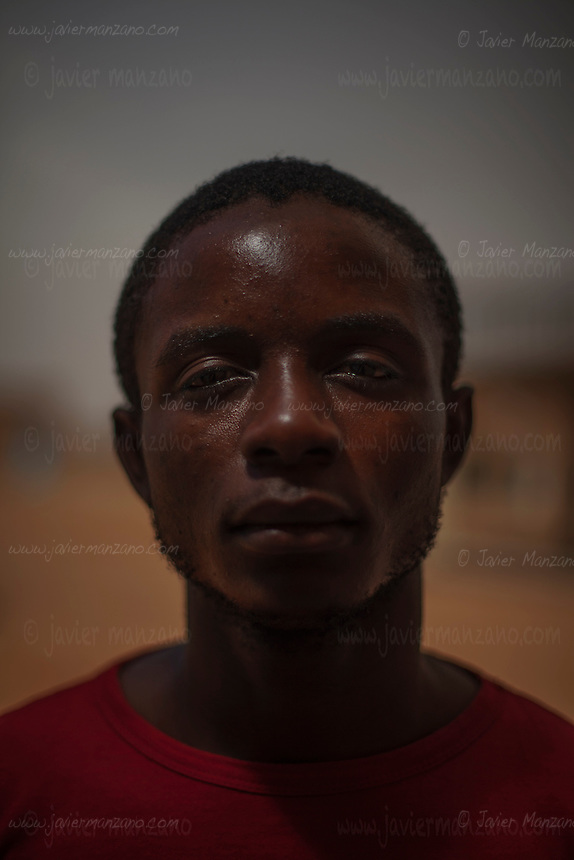 AGADEZ, NIGER &mdash; <br /> 22-year-old Ngole Briekz was a primary school teacher in Cameroon. He says he didn't earn enough money to make a living so decided, with the support of his family, to try his luck at attempting to reach Italy. The convoy he was riding in through the Sahara desert ran into a police check-point outside the city of Arlit in north Niger. He and 8 other migrants from Cameroon were  robbed of all their money by the police. He is now hoping to find someone to help him return to Cameroon.
