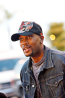 3 March 2007: Celebrity Dwayne Adway  arrives at the World Poker Tour Invitational for the fifth annual tournament at the Commerce Casino in Los Angeles, CA.