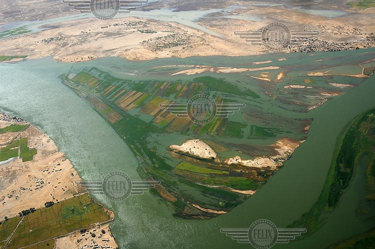 Niger river at Timbuktu.