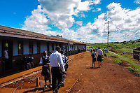 Visiting a Zulu School near Hluhluwe in the KwaZulu-Natal province, South Africa.