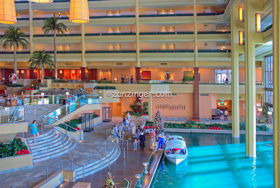 JW Marriott, Desert Springs, Hotel, Resort, Interior, Boat, Docked, Inside, Lobby, Palm Desert, CA, near Palm Springs, CA, Travel, Destination, View, Unique, Quality