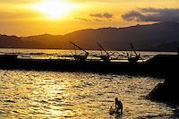 Candi Dasa Beach, Bali, Indonesia