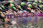 Mcc0041438 . Sunday Telegraph..ST Sport..2012 Olympics..The Women's Olympic Triathlon in London's Hyde Park..4 August 2012....
