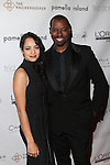 "ACTRESS DEVIKA BHISE AND TED GIBSON AT RENOWNED HAIR STYLIST TO THE STARS TED GIBSON HOSTS 50TH BIRTHDAY EVENT WITH THE HELP OF ""GIBSON GIRLS"" ACTRESSES ASHLEY GREEN, KATE WALSH AND DEBRA MESSING HELD AT THE KNICKERBOCKER ROOFTOP"
