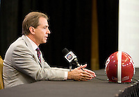 BCS National Championship Head Coaches Press Conference - January 8th, 2012