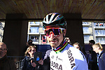 World Champion Peter Sagan (SVK) Bora-Hansgrohe at sign on for Gent-Wevelgem in Flanders Fields 2017, running 249km from Denieze to Wevelgem, Flanders, Belgium. 26th March 2017.<br /> Picture: Eoin Clarke | Cyclefile<br /> <br /> <br /> All photos usage must carry mandatory copyright credit (&copy; Cyclefile | Eoin Clarke)
