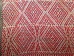 ATH-742 ANTIQUE TRIBAL CHIN WEAVING MYANMAR