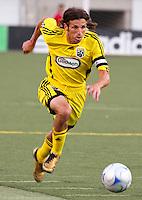 Frankie Hejduk in the 2-0  Real Salt Lake win at Rice Eccles Stadium  in Salt Lake City, Utah on  July 12, 2008.