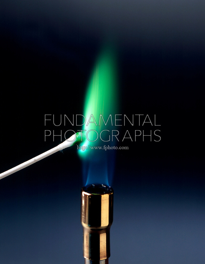 Science chemistry flame test fundamental photographs
