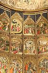 Altar, Old Cathedral; Salamanca; Spain