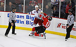 February 9, 2009: New York Rangers at New Jersey Devils