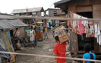 The Basico port area slum of Manila, the &quot;kindey market where over 300 men have sold their kidneys.  All recieved between 70,000 -  90,000 pesos (800 - 1030 pounds).  More than 300 have sold their kidneys in this slum of 16,000 people.<br /> <br /> PHORO BY RICHARD