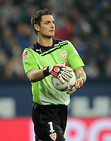 FUSSBALL   1. BUNDESLIGA   SAISON 2011/2012   18. SPIELTAG FC Schalke 04 - VfB Stuttgart            21.01.2012 Torwart Sven Ulreich (VfB Stuttgart)