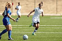 SAN ANTONIO, TX - OCTOBER 23, 2011: The McNeese State University Cowgirls vs. The University of Texas at San Antonio Roadrunners Women's Soccer at the UTSA Recreational Sports Complex. (Photo by Jeff Huehn)