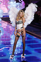 Martha Hunt on the runway at the Victoria's Secret Fashion Show 2014 London held at Earl's Court, London. 02/12/2014 Picture by: James Smith / Featureflash