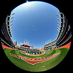 5 September 2009: The Cleveland Indians take batting practice prior to facing the Minnesota Twins at Progressive Field in Cleveland, Ohio. The Indians fell to the Twins 4-1 in the second game of their three-game weekend series. Mandatory Credit: Ed Wolfstein Photo