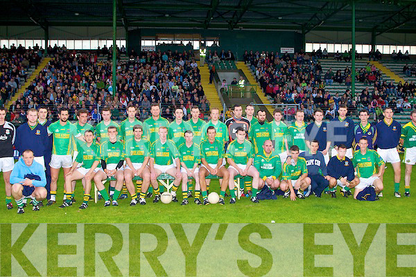 The Finuge's team who won the Castleisland Mart Intermediate Football Final at Austin Stack Park on Saturday.