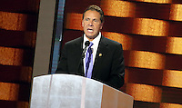 PHILADELPHIA, PA - JULY 28: New York Governor Andrew Cuomo pictured at The 2016 Democratic National Convention day 4 at The Wells Fargo Center in Philadelphia, Pennsylvania on July 28, 2016. Credit: Star Shooter/MediaPunch