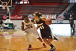 "Ole Miss' Tia Faleru (32) vs. UMass' Kiara Bomben (41) at the C.M. ""Tad"" Smith Coliseum in Oxford, Miss. on Saturday, December 8, 2012."