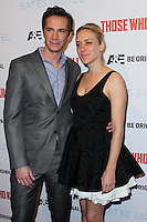"""HOLLYWOOD, LOS ANGELES, CA, USA - FEBRUARY 26: James D'Arcy, Chloe Sevigny at the Premiere Party For A&E's Season 2 Of """"Bates Motel"""" & Series Premiere Of """"Those Who Kill"""" held at Warwick on February 26, 2014 in Hollywood, Los Angeles, California, United States. (Photo by Xavier Collin/Celebrity Monitor)"""