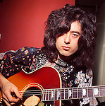 Led Zeppelin 1970 Jimmy Page.© Chris Walter.