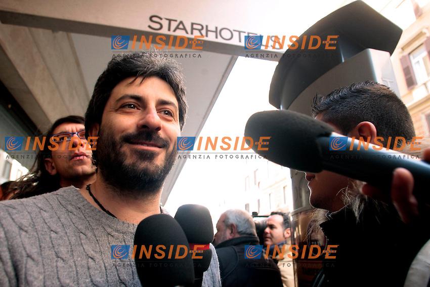 Roberto Fico.Roma 04/03/2013 Hotel Universo. Vertice del Movimento 5 Stelle.Photo Samantha Zucchi Insidefoto