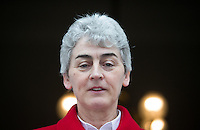 02/04/2015<br /> Sister Helen Culhane LIDL Local Hero Award Winner, Pride of Ireland Awards 2014<br />  during the Pride of Ireland judging day in the Mansion House, Dublin.<br /> Photo:  Gareth Chaney Collins
