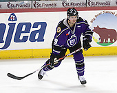 Jared Ross (Reading - 9) - The Reading Royals defeated the Trenton Devils 4-3 in overtime on Sunday, December 6, 2009, at Sun National Bank Center in Trenton, New Jersey.